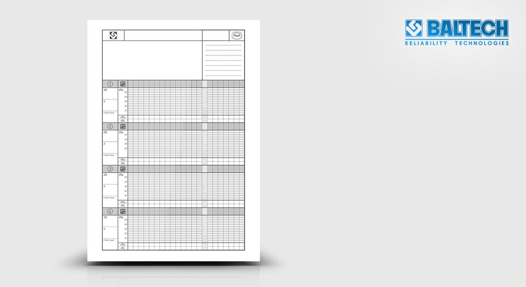 Таблица контрольная BALTECH VP-3450